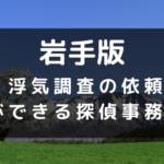 岩手県の探偵のイメージ画像